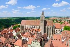 Rothenburg ob der Tauber, Deutschland Lizenzfreie Stockbilder