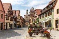 Rothenburg ob der Tauber Deutschland Stockfotografie