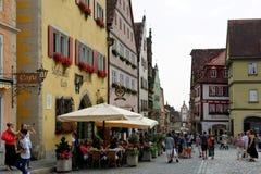 Rothenburg ob der Tauber Deutschland Stockbild