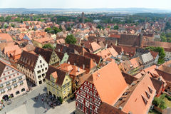 Rothenburg ob der Tauber Deutschland Stockbilder
