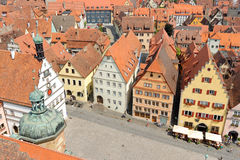 Rothenburg ob der Tauber Deutschland Lizenzfreies Stockbild