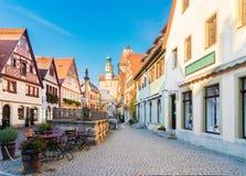 Rothenburg ob der Tauber, Deutschland Stockfotos
