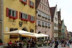 Rothenburg ob der Tauber Duitsland Royalty-vrije Stock Fotografie