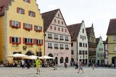 Rothenburg ob der Tauber Duitsland Royalty-vrije Stock Foto's