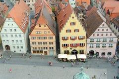 Rothenburg ob der Tauber Duitsland Stock Afbeelding