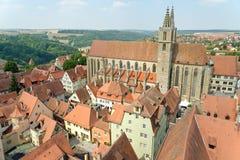 Rothenburg ob der Tauber Duitsland Stock Afbeeldingen