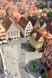 Rothenburg ob der Tauber Duitsland Royalty-vrije Stock Afbeeldingen