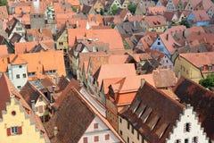 Rothenburg ob der Tauber Duitsland Stock Foto