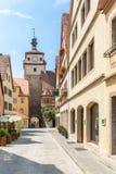 Rothenburg ob der Tauber, Franconia, Bavaria, Germany Royalty Free Stock Images