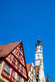 Rothenburg ob der Tauber, Germany. Royalty Free Stock Photos
