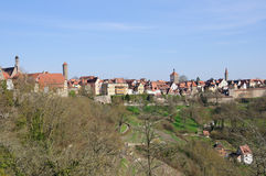 Rothenburg ob der Tauber, Germany Stock Images