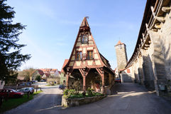 Rothenburg ob der Tauber, Germany Stock Image