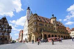 Rothenburg ob der Tauber, Germany Royalty Free Stock Photo