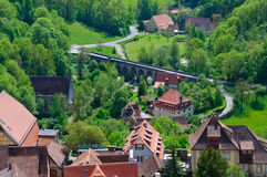 Rothenburg ob der Tauber, Germany Stock Photos