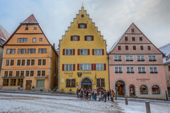 Rothenburg ob der Tauber, Germany. Stock Image