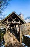 Rothenburg ob der Tauber, Germany - Wooden Bridge II Stock Photo