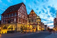 Rothenburg ob der Tauber Germany at dusk Royalty Free Stock Photo
