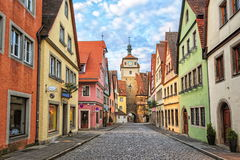 Rothenburg ob der Tauber, Germany. Rothenburg ob der Tauber by Nuremberg, Germany. Well preserved medieval german town, UNESCO world culture heritage site, on of royalty free stock photos