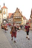 ROTHENBURG OB DER TAUBER, GERMANY - September 5: Performers of t Stock Photo