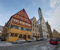 Rothenburg ob der Tauber, Germany - Street View II Royalty Free Stock Image