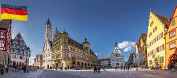 Rothenburg ob der Tauber Germany royalty free stock images