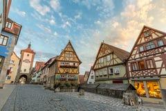 Rothenburg ob der Tauber Stock Images