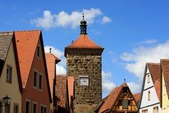 Rothenburg ob der Tauber, Niemcy zdjęcie royalty free