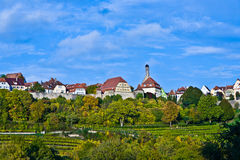 Rothenburg ob der Tauber, old famous city from medieval times se Royalty Free Stock Photo