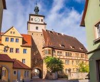 Free Rothenburg Ob Der Tauber Old Town White Tower Bavaria Germany Royalty Free Stock Photo - 161876625