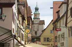 Rothenburg ob der Tauber Rathaus, Germany Royalty Free Stock Photos