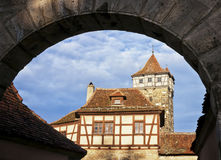 Rothenburg ob der tauber - tower Royalty Free Stock Photography