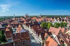 Rothenburg ob der Tauber, Bavaria, Germany royalty free stock images