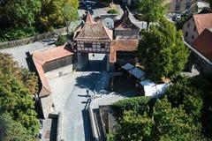 Rothenburg ob der Tauber, Bavaria, Germany royalty free stock image