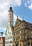 Rothenburg on the river Tauber,Bavaria,Germany Royalty Free Stock Photography