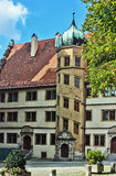 Rothenburg on the river Tauber,Bavaria,Germany Stock Photo