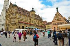 Rothenburg obder Tauber2 Arkivbild