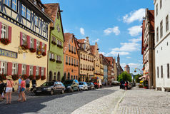 Rothenburg Old Town Stock Image