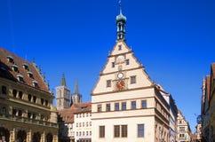 Rothenburg Rathaus Stock Photos