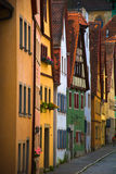 Rothenburg residences  Stock Images