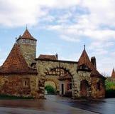 Rothenburg Tyskland Arkivfoto