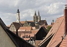 Rothenburg View Royalty Free Stock Photos