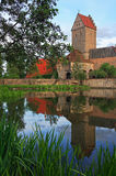 Rothenburger Tor. Image of the Rothenburger Tor in Dinkelsbuhl, Germany Stock Photo