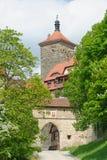 Rothenburgpoort stock foto's