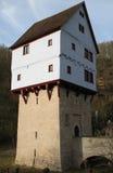 rothenburgtauber för D o topplerschlosschen royaltyfri foto