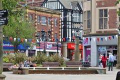 Rotherham stad, UK Royaltyfri Foto