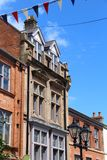 Rotherham town, UK. Rotherham, town in South Yorkshire, England. Architecture view Royalty Free Stock Photo