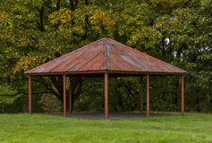 Rothes Castle band stand. Stock Photos