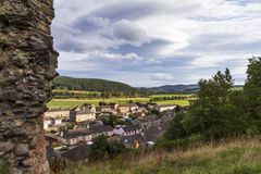Rothes Castle view. Stock Image