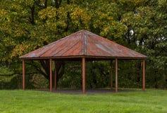 Rothes-Schloss-Bandstand. Stockfotos