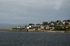 Rothesay from the ferry Royalty Free Stock Image
